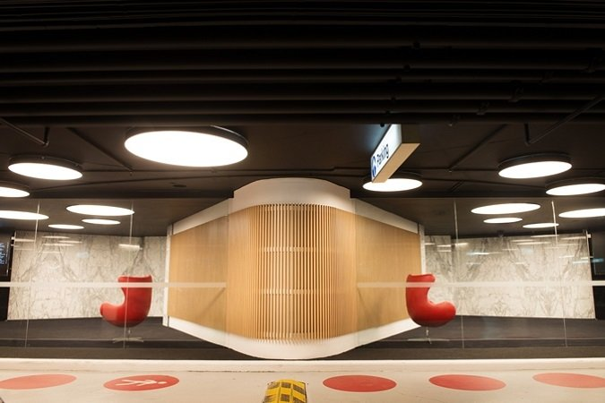 Riverside Carpark Levels Lift Lobby Refresh