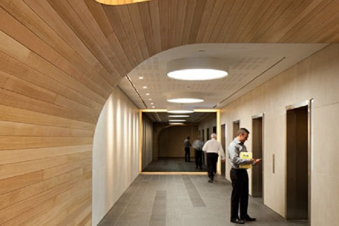 Greensquare North Tower Foyer